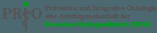 Logo der Arbeitsgemeinschaft Prävention und Integrative Onkologie (PRIO) in der Deutschen Krebsgesellschaft